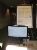 Poster s informacemi na konferenci INSPO 2012